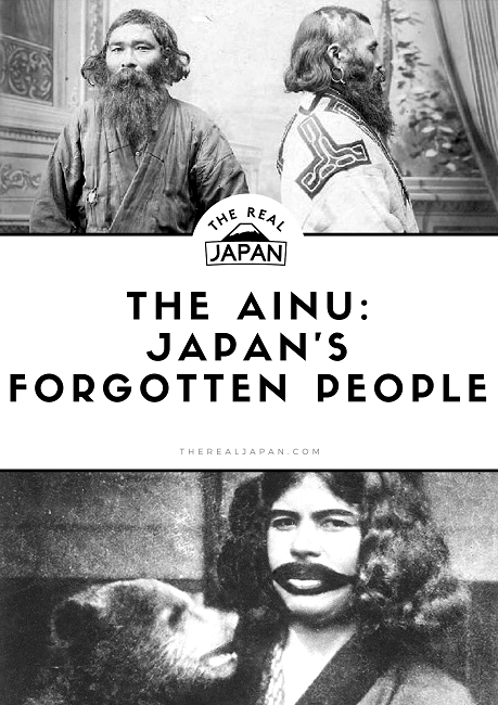 The Ainu Japan's Forgotten People Rob Dyer The Real Japan